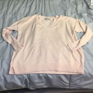 Pink loft sweater
